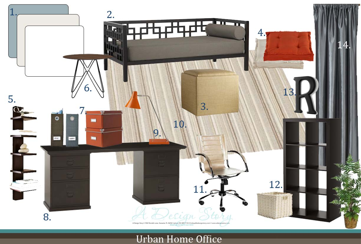 Urban Home Office A Design Story