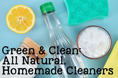 DIY Natural Homemade Cleaners