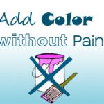 ADD COLOR WITHOUT PAINT LOGO
