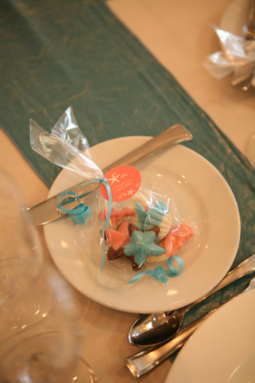 summer beach wedding favors
