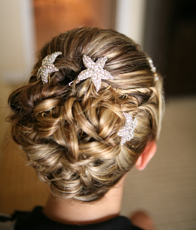 summer beach wedding hair