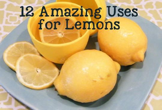 12 Amazing Uses for Lemons
