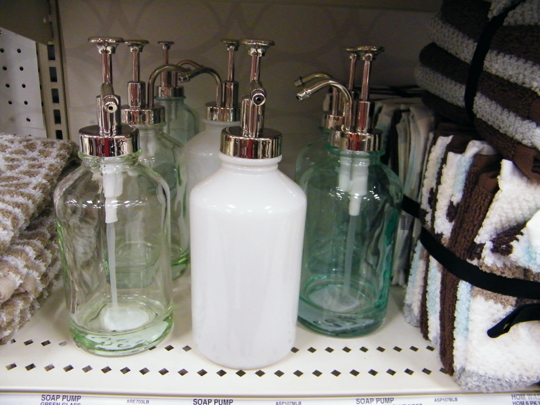 They Also Change Out Seasonal Collection In The Kitchen Ware Area And I Am  Loving This. Kitchen Soap Dispenser Set Automatic ...