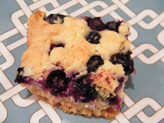 Gluten Free Lemon-Blueberry Crumb Bars
