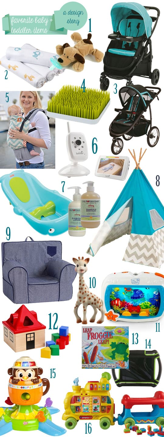 Favorite Baby + Toddler Items