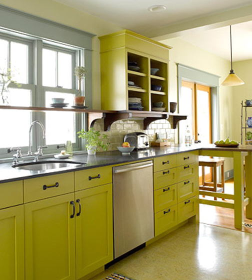 Are you loving chartreuse too? I thought it might be fun to add some
