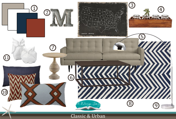 E-Design Board: Classic & Urban