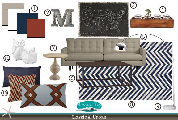 E-Design Board: Classic & Urban
