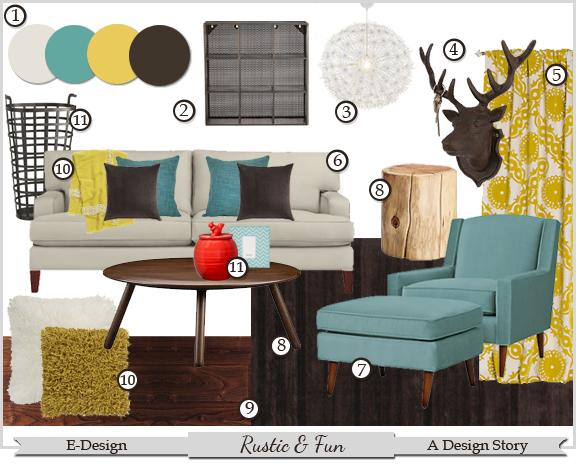 E-Design: Rustic & Fun