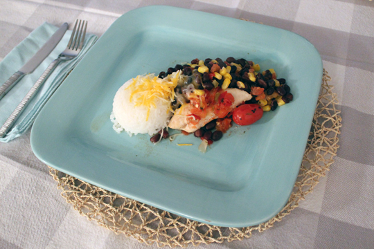 Gluten Free Southwest Chicken & Rice