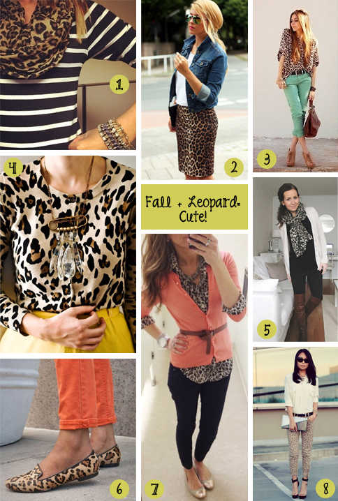 Fall Family Photo Outfit Ideas http://adesignstory.com/style-file-8-ways-to-wear-leopard-print/fall-animal-print-outfit-ideas/