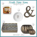 Fresh Picks: October 2012