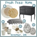 Fresh Picks: November 2012