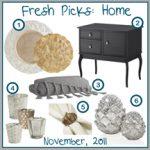 Fresh Picks: November 2012