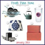 Fresh Picks: January 2013