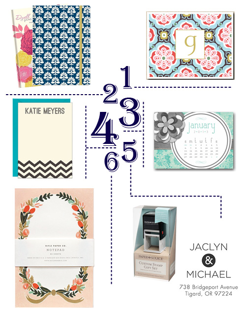 Pretty on Paper: Stationary Goodies