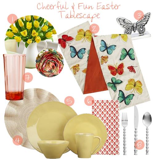 3 Fun Easter Tablescape Designs