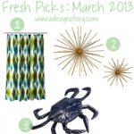 Fresh Picks: March 2013