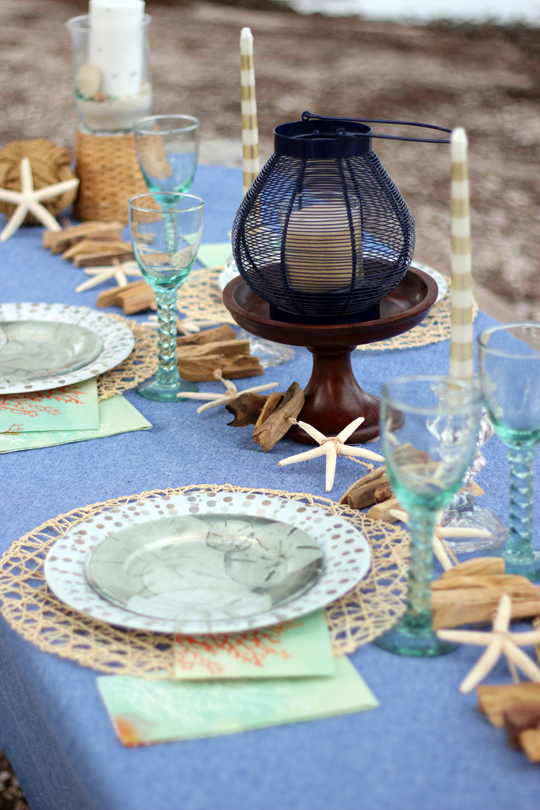 Nice and Nautical Tablescape