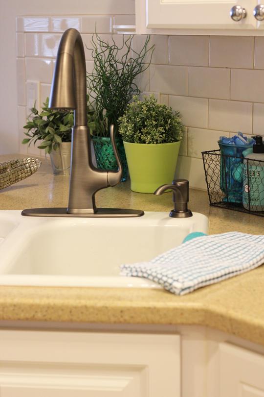 Kitchen Faucet Slate Finish