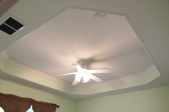 Master Ceiling Before