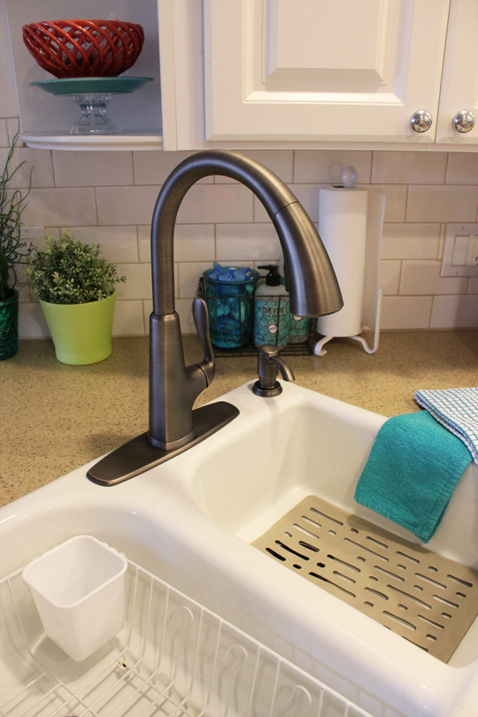 stainless sink faucet faucets kitchen slate sinks double steel bowl trugranite for equal baths kitchens and