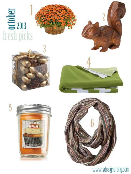October 2013 Fresh Picks