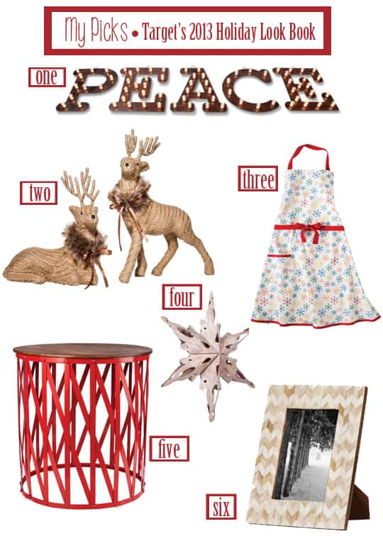 Target's 2013 Holiday Look Book