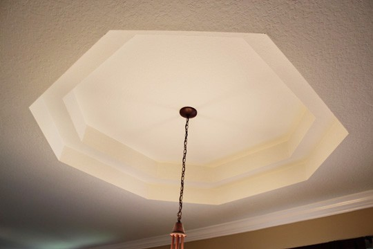 Dining Room Ceiling Before