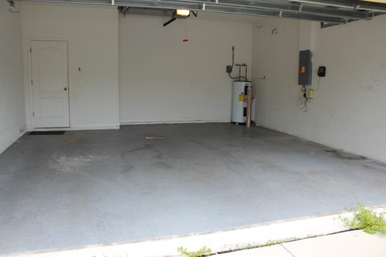 Garage Floor Before