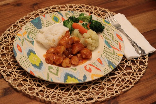 Gluten Free Sweet & Sour Chicken