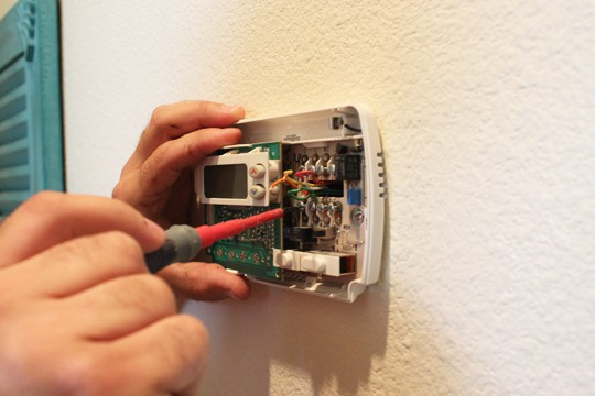 Uninstalling the old Thermostat