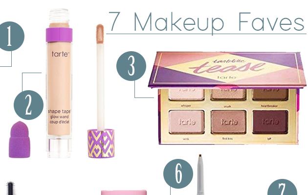 7 Makeup Faves