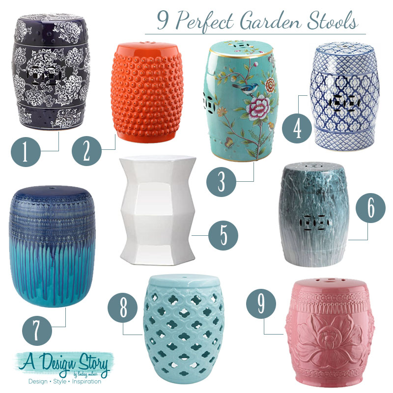 9 perfect garden stools