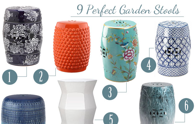 9 Perfect Garden Stools